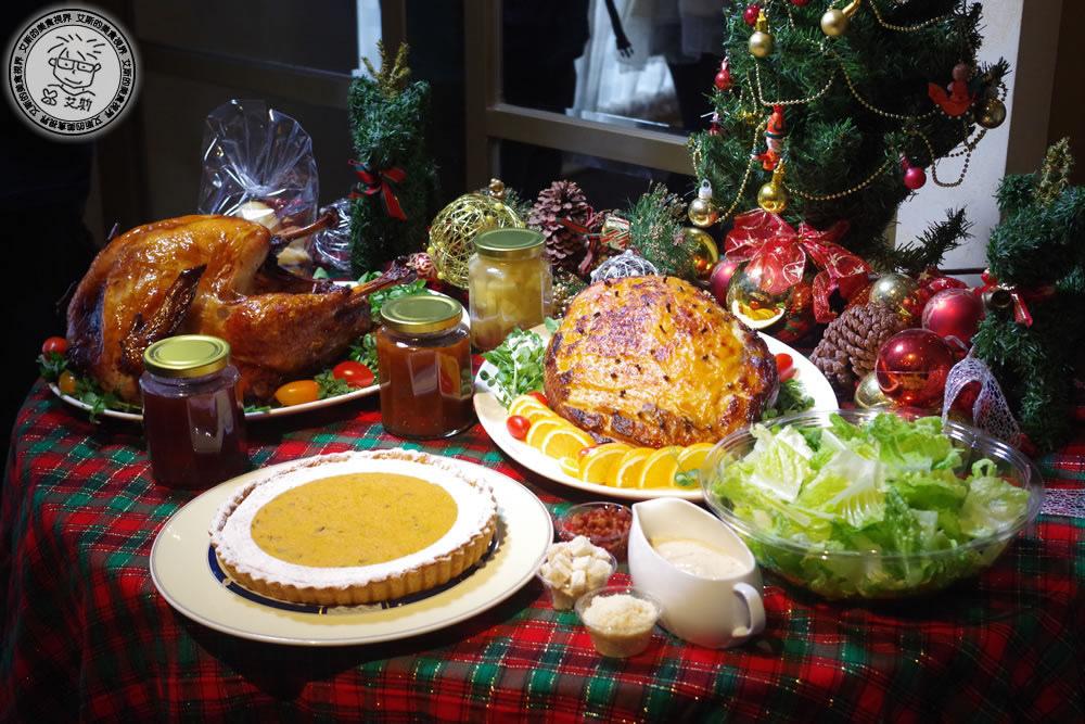 歐華酒店地中海牛排館的香烤火雞分享禮籃.不論在感恩節或聖誕節都是送禮的好選擇!
