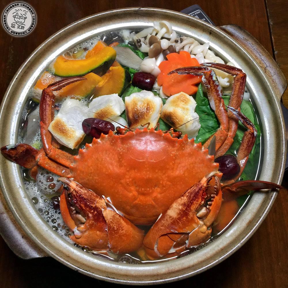不只有高品質的生魚片還有暖心又暖胃的新鮮活沙公昆布鍋。匠壽司(二訪)