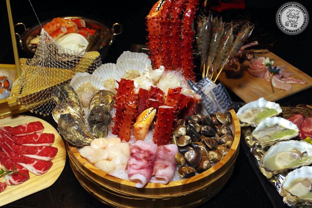 帝王蟹吃到飽又來囉!四人同行打卡再送活波士頓龍蝦一隻!蟹宴-日式頂級帝王蟹燒烤鍋物