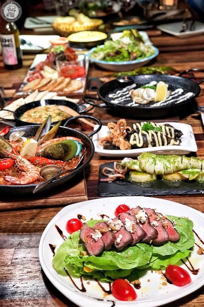 【西班牙料理.餐酒】道地西班牙料理在東區巷子裡就可以找的到喔!下班後聚餐小酌也很方便.PS Tapas 西班牙餐酒館