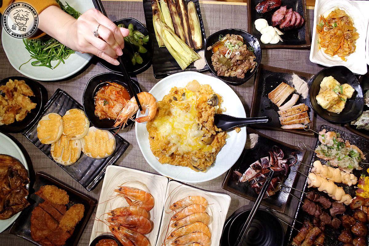 【串燒.吃到飽】日式居酒屋竟然只要499就可以無限量吃到飽.不用自己動手烤的串燒.串燒殿-西門