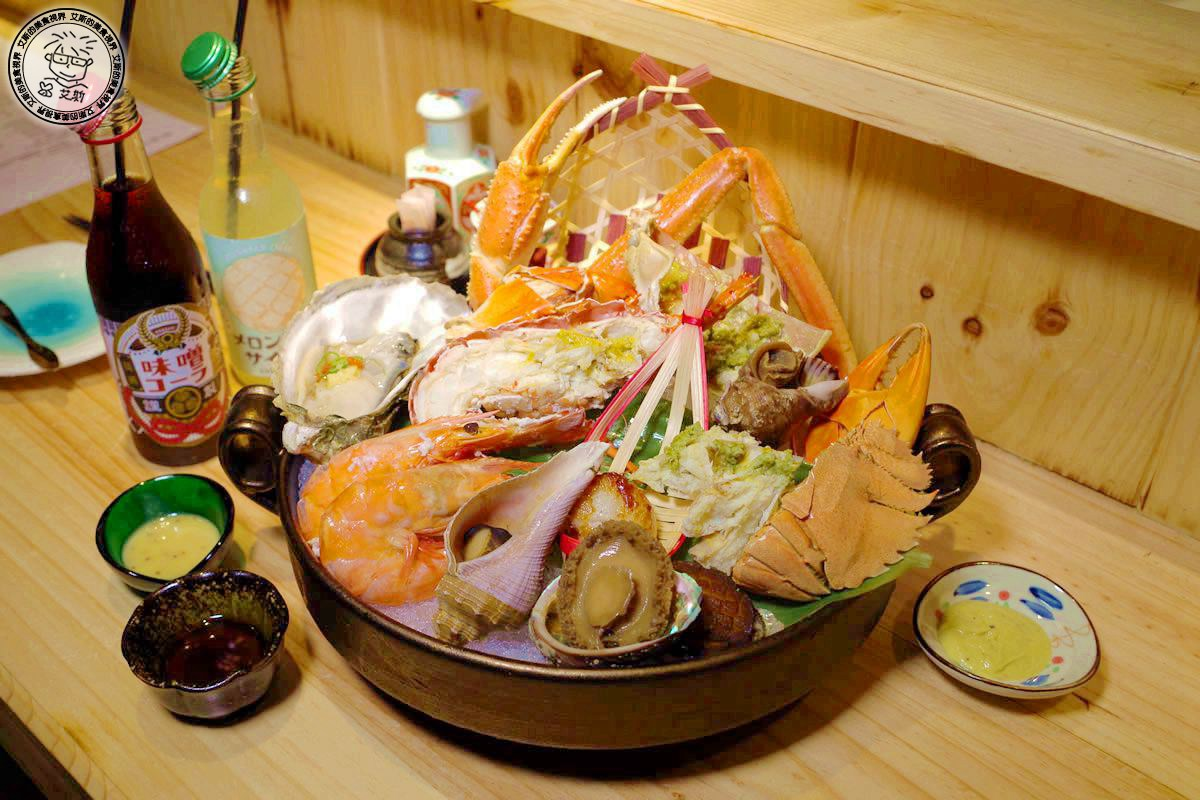 【 海鮮 】最「青」的高檔海鮮2000元就吃得到!海鮮控絕對不能錯過.安東建一水產