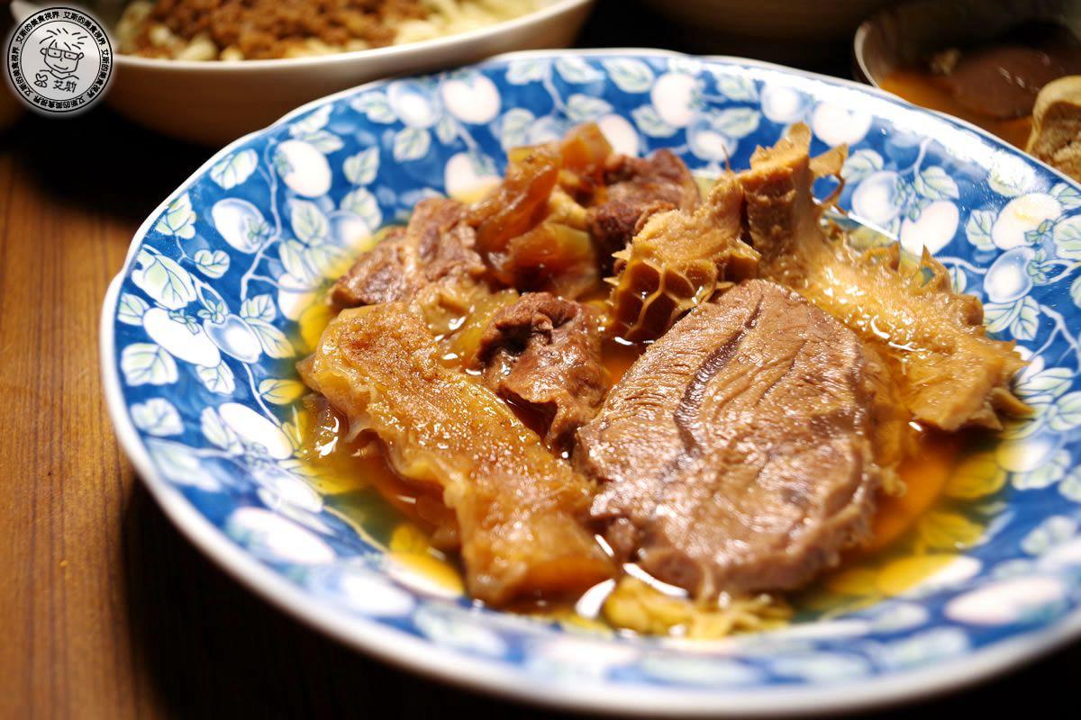3紅燒牛肉四寶拼盤3