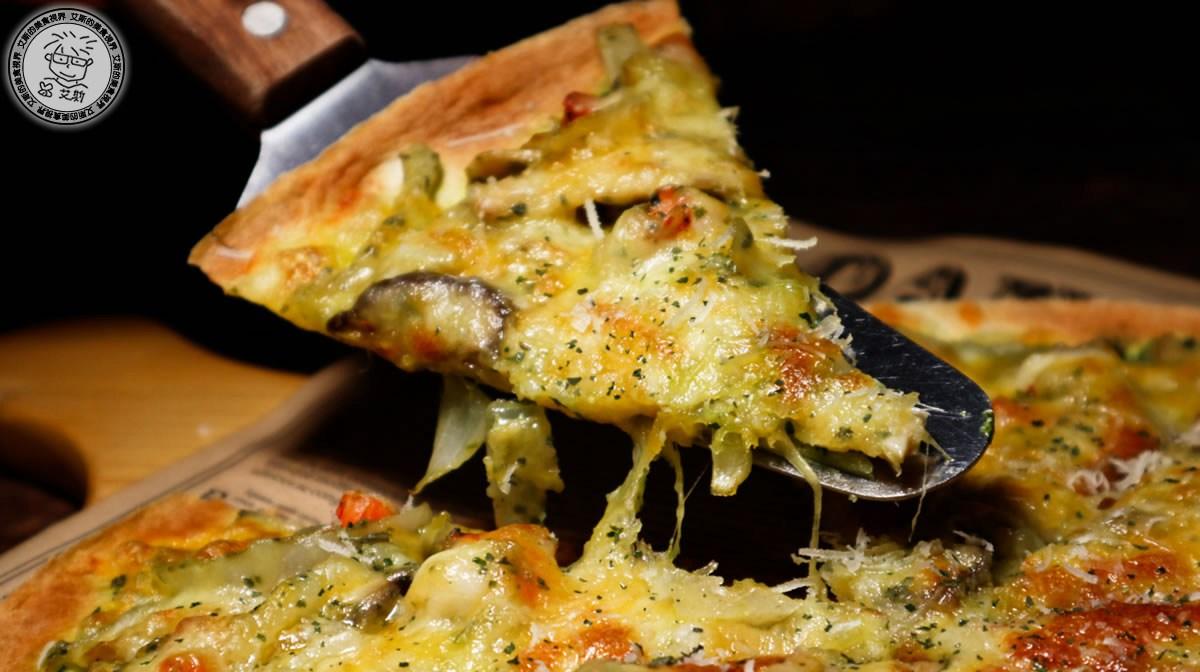 5青醬鮮蝦披薩2