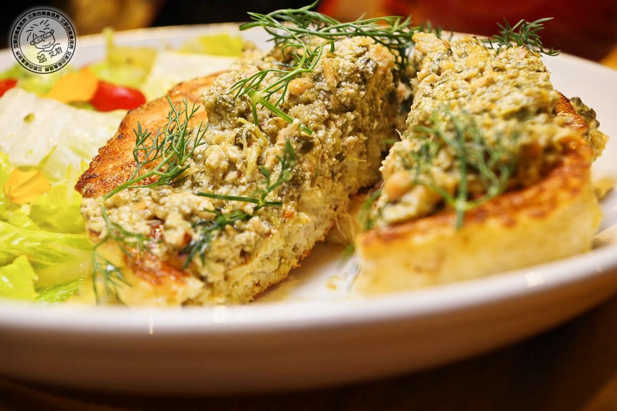 2奶油菠菜燻鮭魚法式吐司3