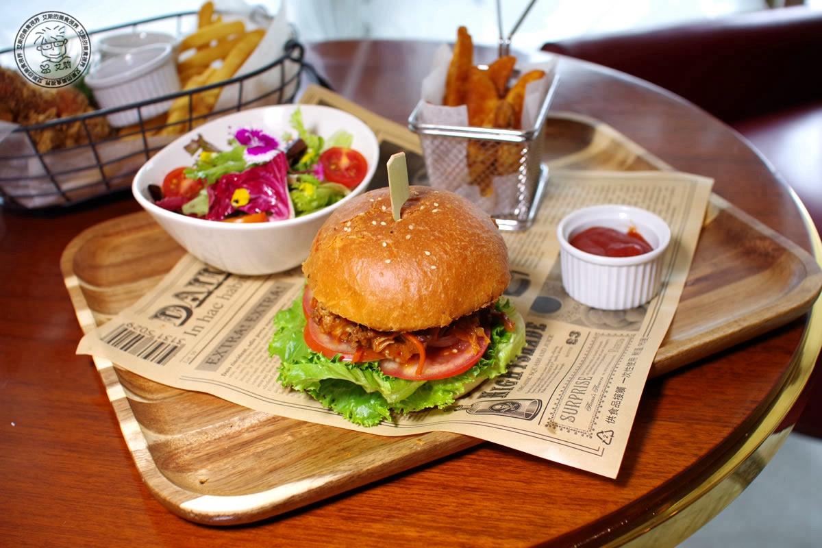 2韓式燒肉(牛肉)漢堡1
