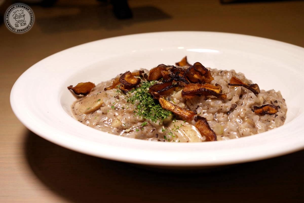 2松露野菇燉飯(奶素)1