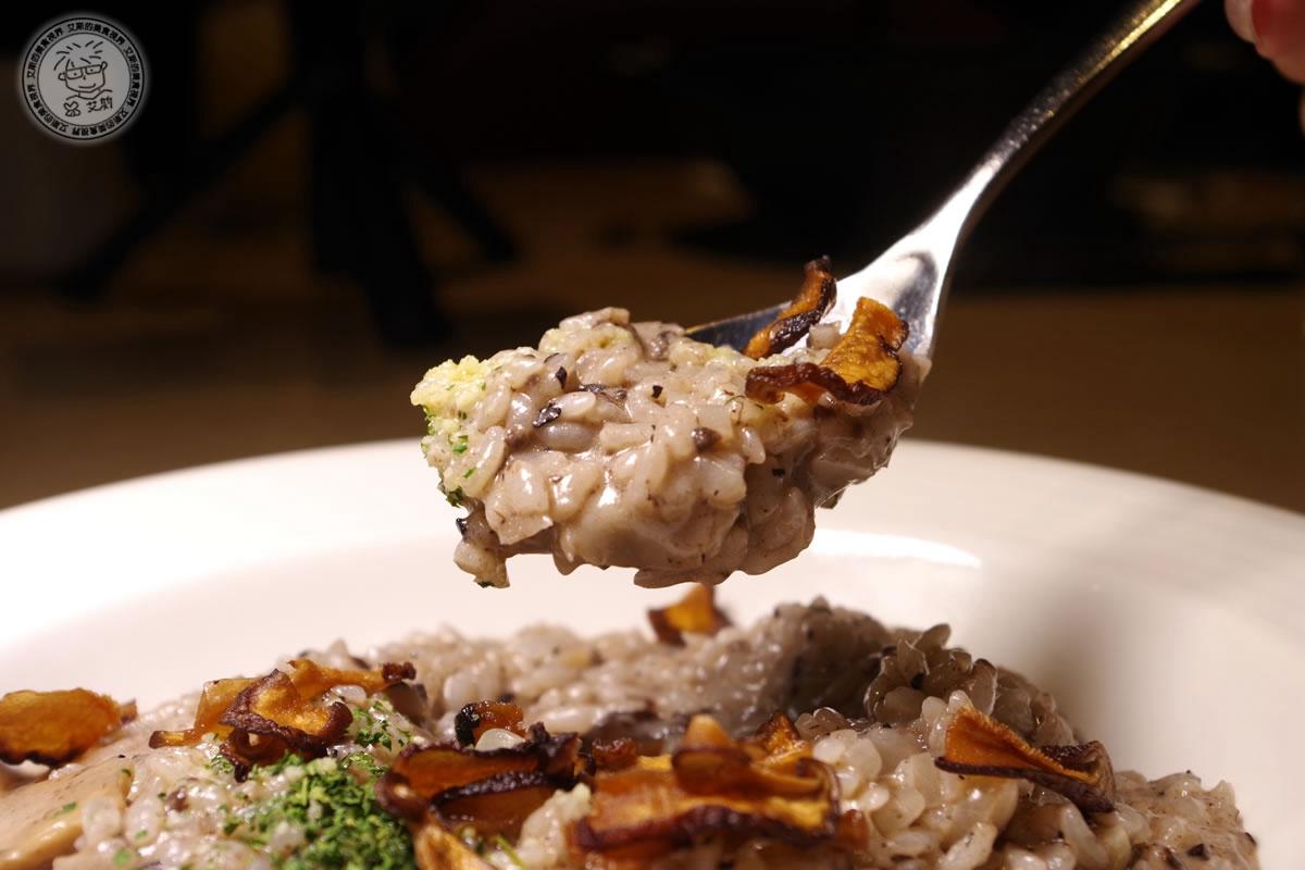 2松露野菇燉飯(奶素)2
