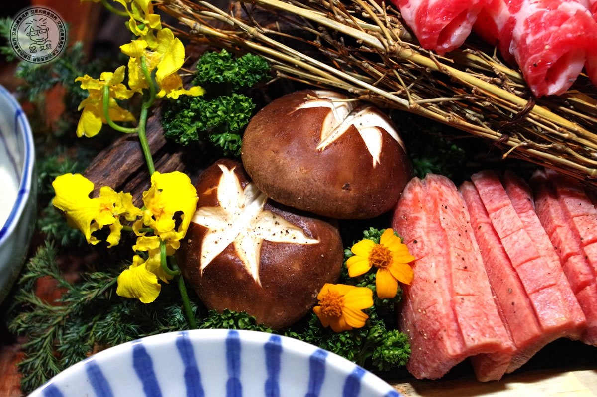 8牛肉盛合-香菇1