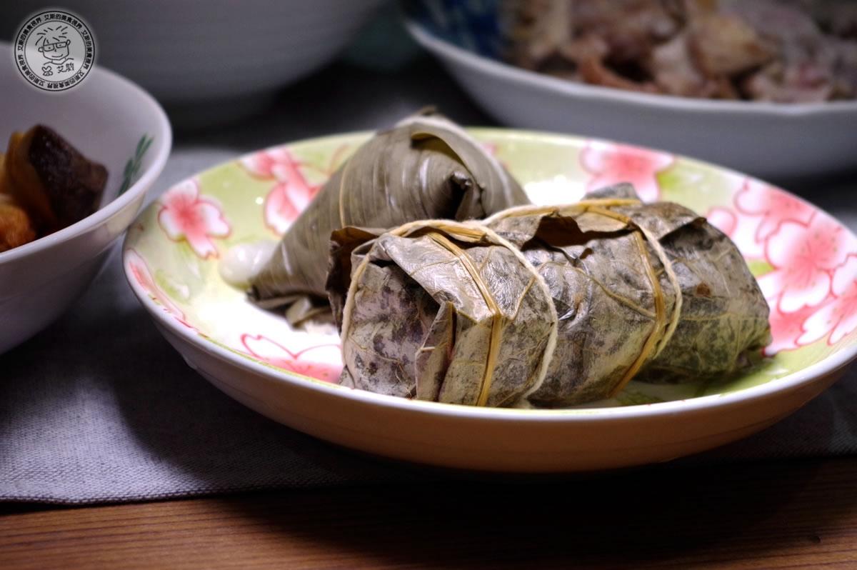 5港式Gaea格雅雞手工荷香粽&蘿蔔絲粿仔粽(素食)2