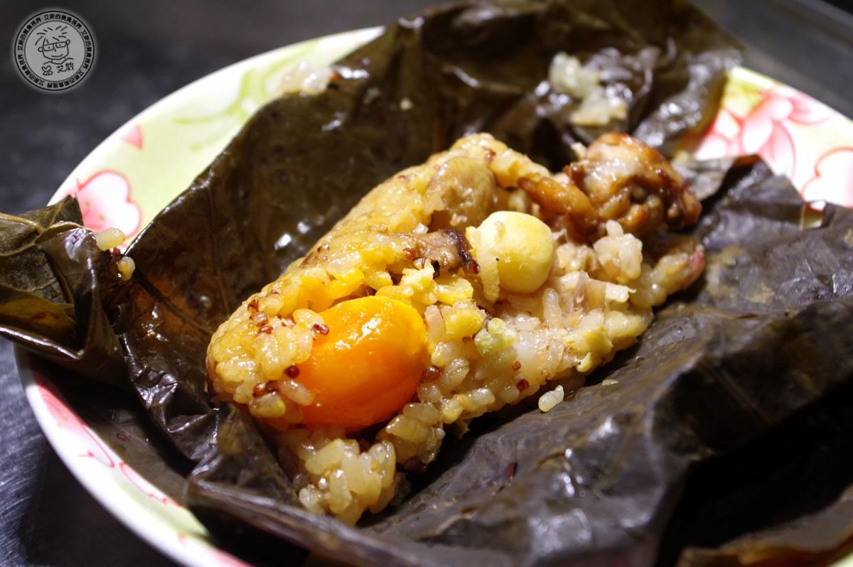 5港式Gaea格雅雞手工荷香粽&蘿蔔絲粿仔粽(素食)3
