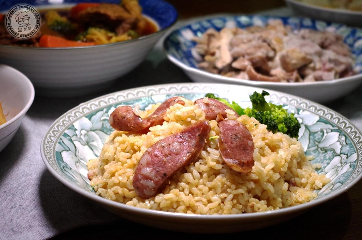 6蓮貞豚香腸拌香米飯(兩人份)2