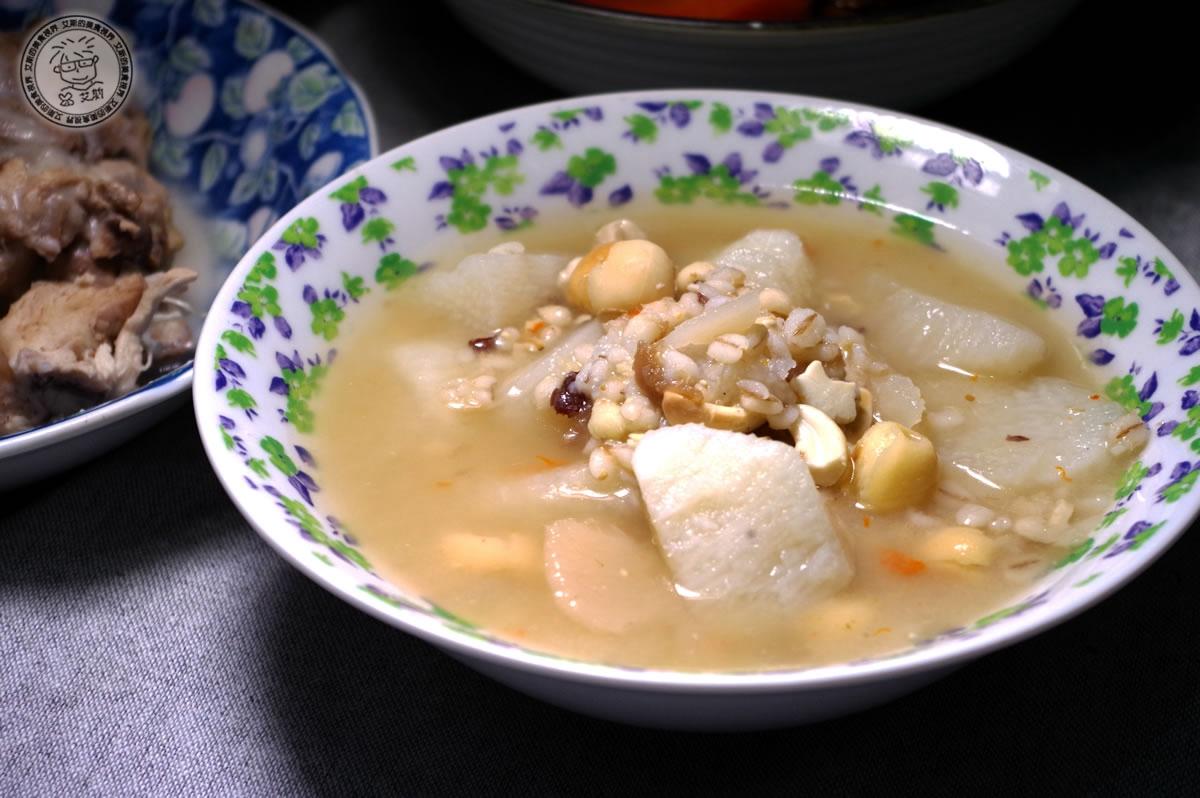 8山藥養生四神湯(素食)3