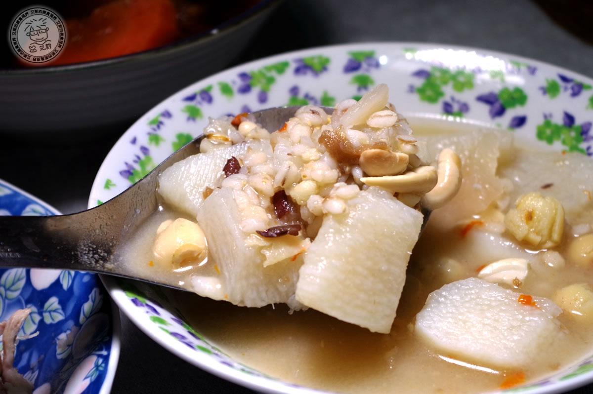 8山藥養生四神湯(素食)4