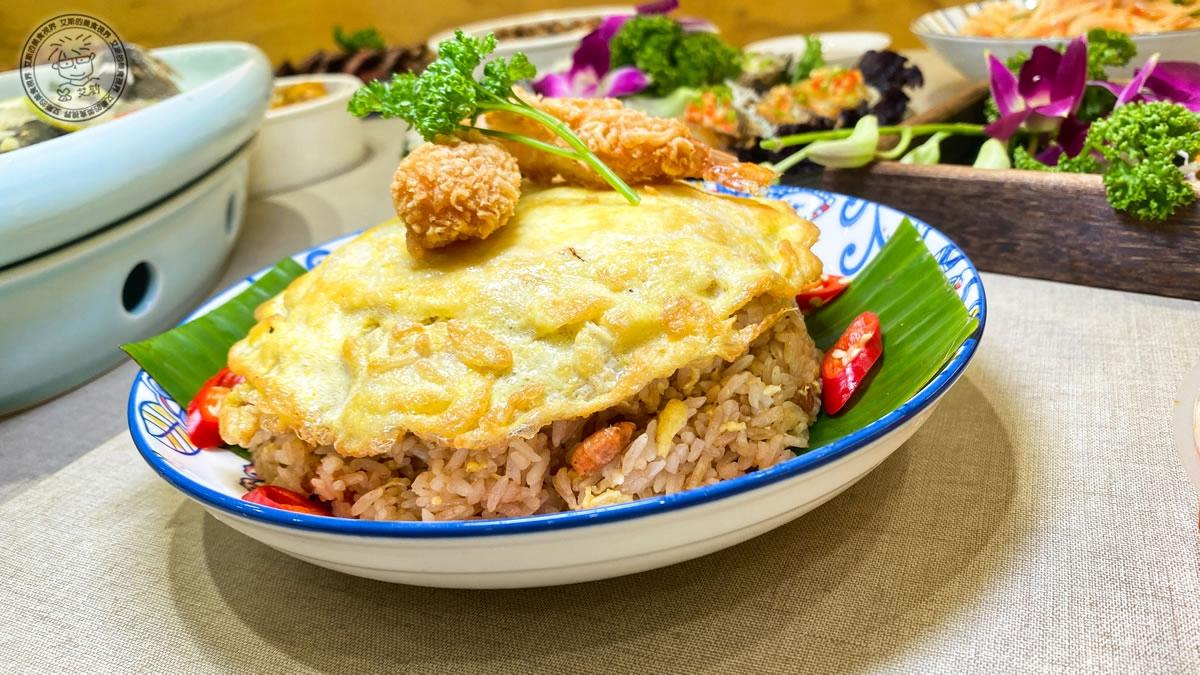 10炸蝦曼谷蝦醬炒飯1