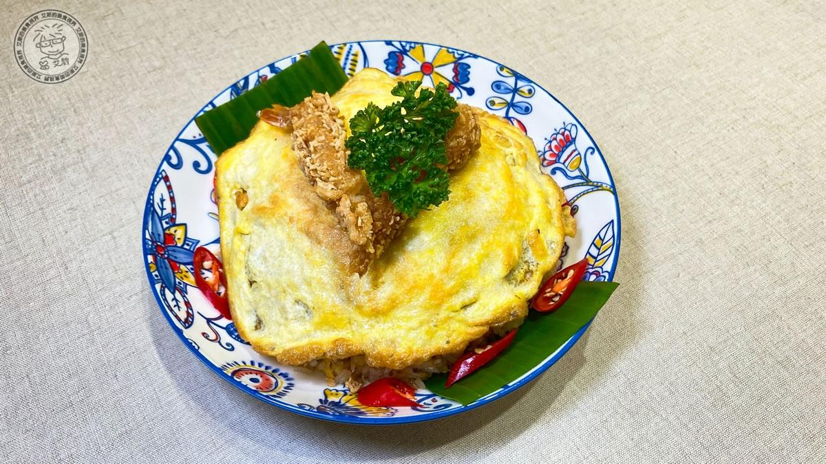 10炸蝦曼谷蝦醬炒飯2