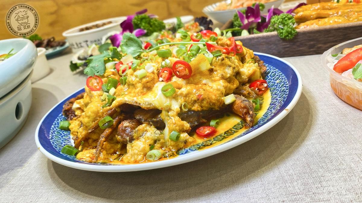 14泰皇咖喱軟殼蟹