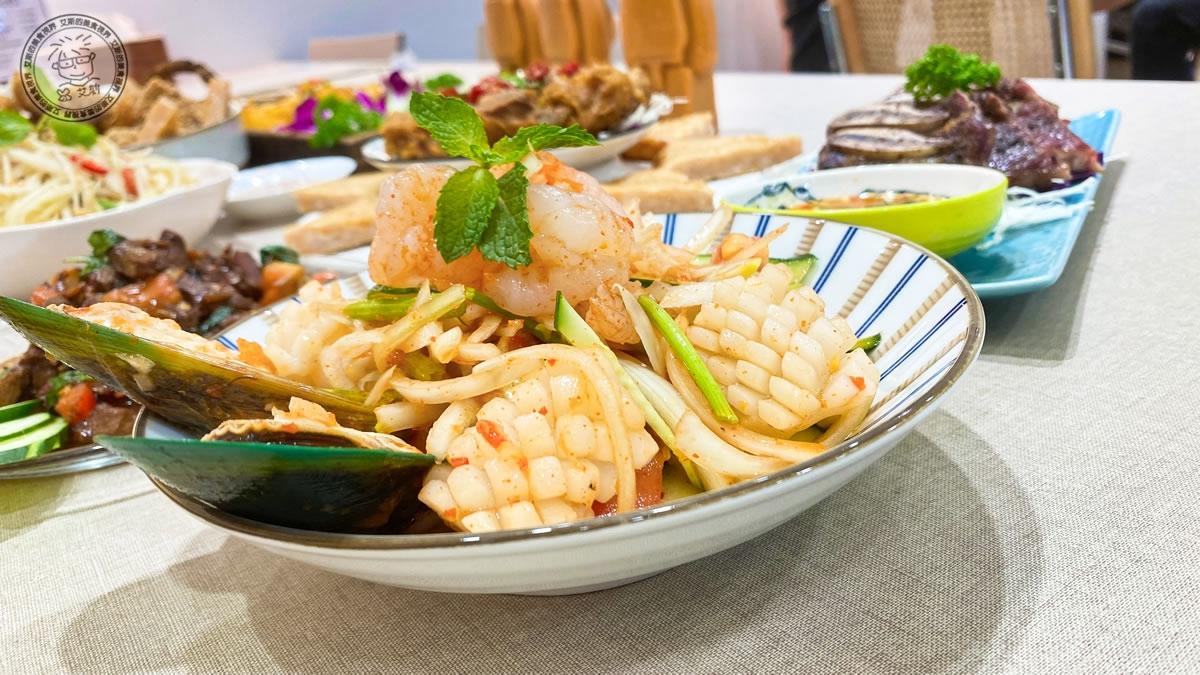 6泰式海鮮沙律